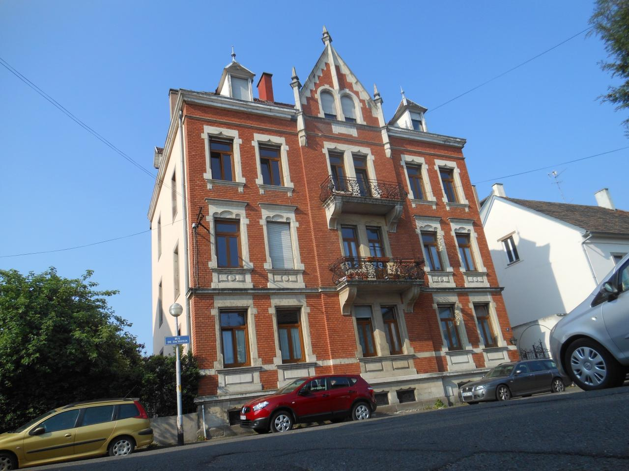 Immeuble wilhelminien