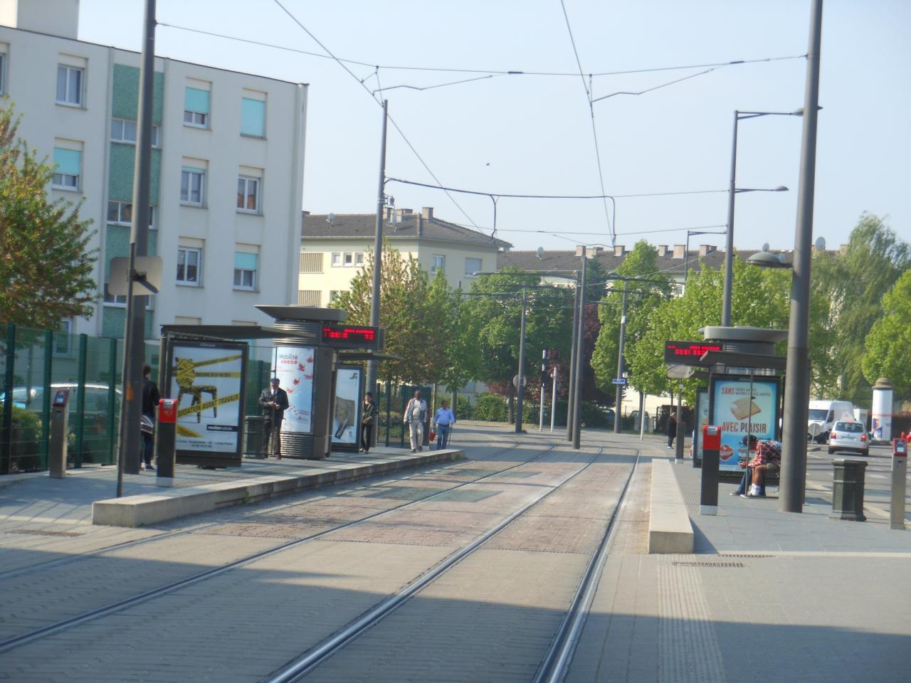 Station tram Elmerforst