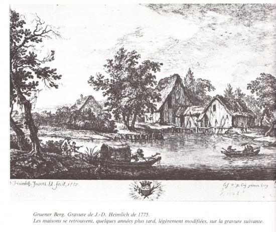 Moulin près de la Montagne Verte