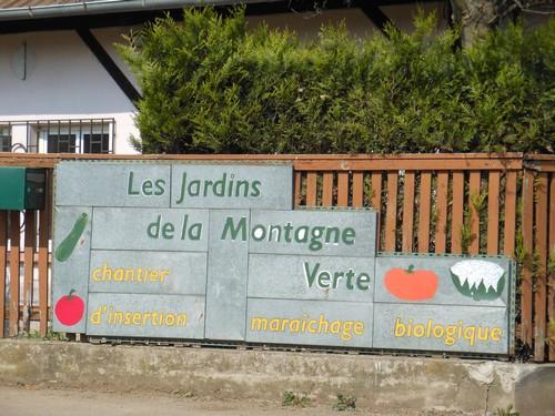 Jardins de la montagne verte